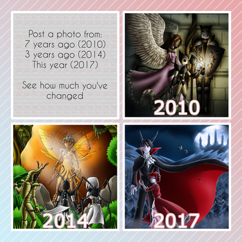 [meme] 3 year progress by Fruit-Sauvage