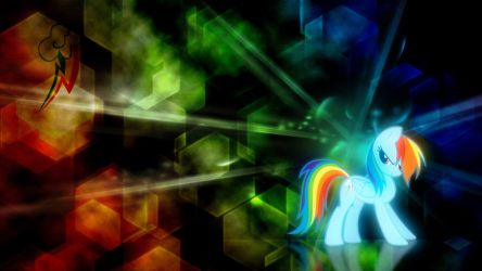 Rainbow Dash Wallpaper by WazerX