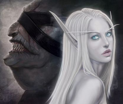 Light of My Darkness - cropped by cryptfever
