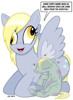 Derpi Babby Is Home by curtsibling