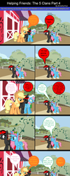Helping Friends: The 5 Clans Part 4 by EmoshyVinyl