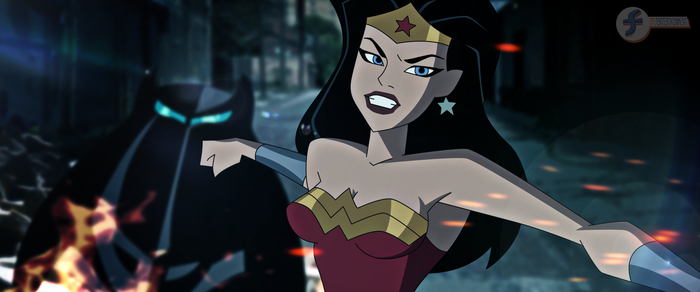 Batman v Superman DCAU - Wonder Woman by JTSEntertainment