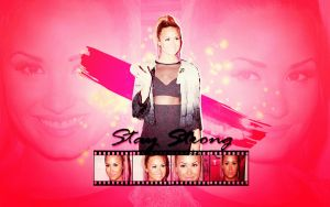 Demi lovato wallpaper 05 by sweetheartlovato on deviantart demi lovato quote by gagagomezcyrus staystrong by itsdapao voltagebd Images