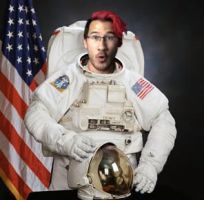 Markiplier as an astronaut by mistylovesrocklee