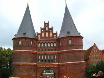 Germany - Luebeck - Holstentor by LadyInBlack