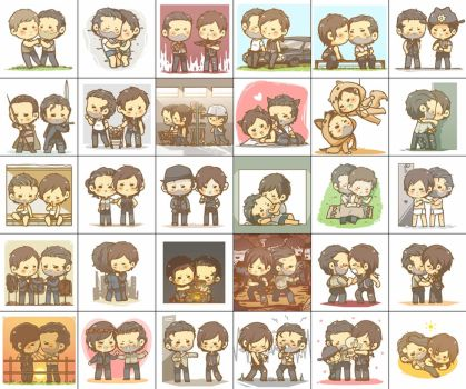 30 Day OTP Challenge: Rick x Daryl by honeyf