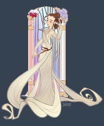 Art Nouveau Rey by Skirtzzz