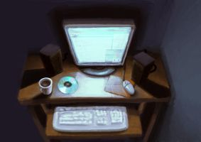 The computer by Umerean