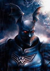 Batman The Merciless by junkome