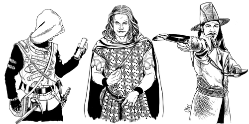 The Rogue, The Sweet-talk and The Hunter by orehovka