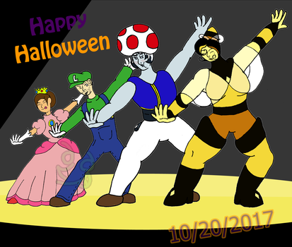 Super Mario Halloween Odyssey by CommanderCTC