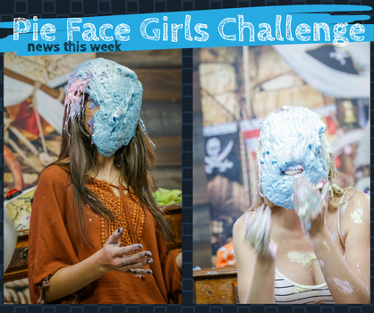 Pie Face Girls Challenge - Girls geting pied by raposa2