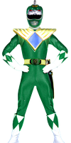 MMPR Green Ranger Alternate by Bilico86