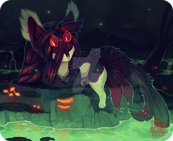 Fate's Swamp - Commission by Anti-Dark-Heart
