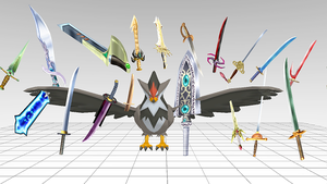 MMD : Super Weapons Pack DL by Silver-Nova-07