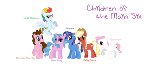 Main 6 Kids by TheCatCrusader