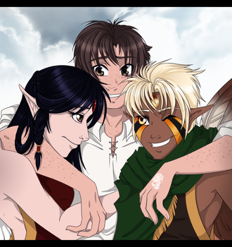 The Caezad Family by Tigryph