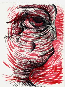 Red Drawing-1 by jeremiahkauffman