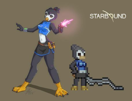 Starbound Character by Tobsen85