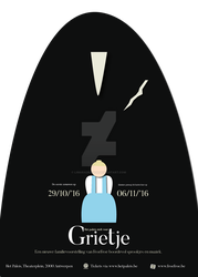 Poster Design Grietje by Limaradragon