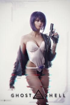 Motoko Ghost in the shell by demon00700