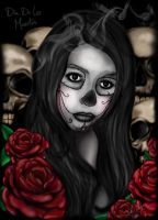 De Los Muertos-Day Of The Dead by Jerrycharlotte