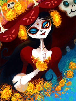 Book of Life: La Muerte by ky-nim