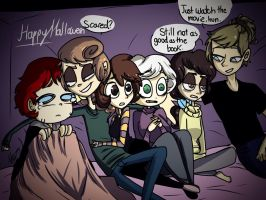 BATB - Scary Movie by MoonlightWolf17