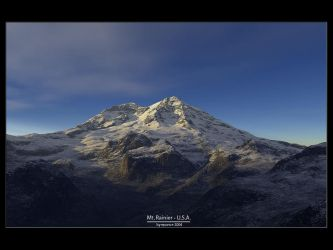 Mt. Rainier by eponce