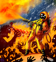 L4D - Kill them with fire by IsisMasshiro