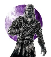 The Last Wish - Geralt by JustAnoR