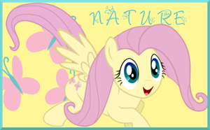 Nature Fluttershy Signature by AliceHumanSacrifice0