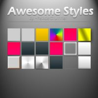 Awesome Styles (Set 1) by FelixderDrummer