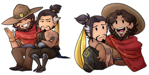 mchanzo chibis by classydove