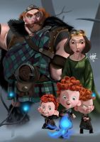 A Brave Family by manukongolo