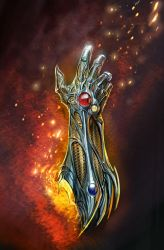 witchblade cover by nebezial