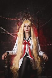 Sara Shirabuki Vampire Knight by AlienOrihara