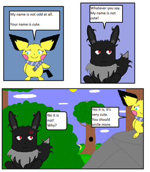 Eclipse comic Chapter 1 page 3 by Rat-Man1