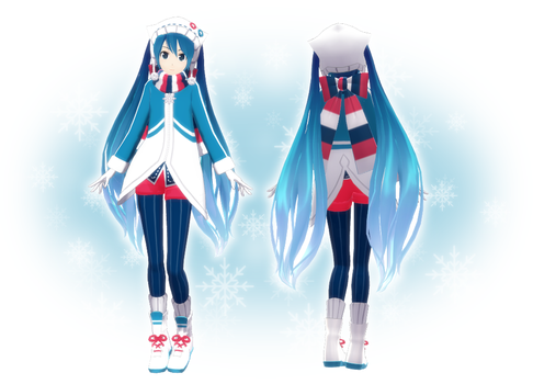 MOTME : Snow Miku by SuminoChan