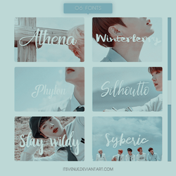 //Fonts Pack 002 by itsvenue
