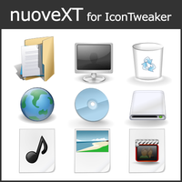 nuoveXT for IconTweaker by anthonium