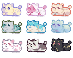 Kitty Adopt Batch (9/9 OPEN) by MeIoncholyThoughts
