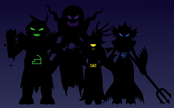 Emperors of the Crux by skeppio