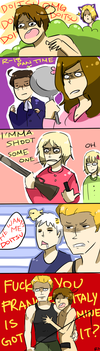 APH: ITALY CAUSES A RUCKUS by Randomsplashes