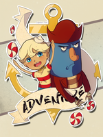 The Marvelous Misadventures of Flapjack by Captain-Toki