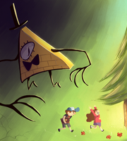 Gravity Falls by Sir-hoodie-knight