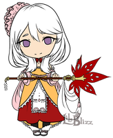 Fire Emblem: Chibi Lana by LilyBlizz