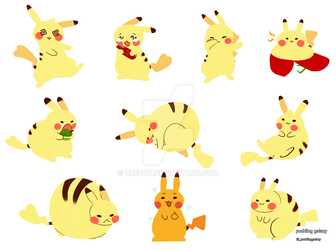Pikas!!! by ubebot