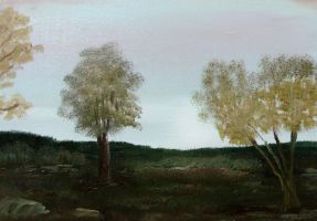 Two Trees by Natan-Estivallet