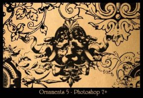 Ornaments 5 by Ch4ron